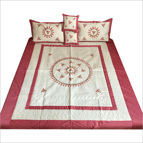 Cotton Embroidered Bedsheet