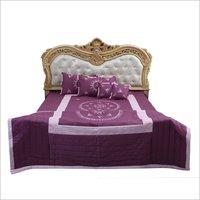 Designer Embroidered Bedsheet