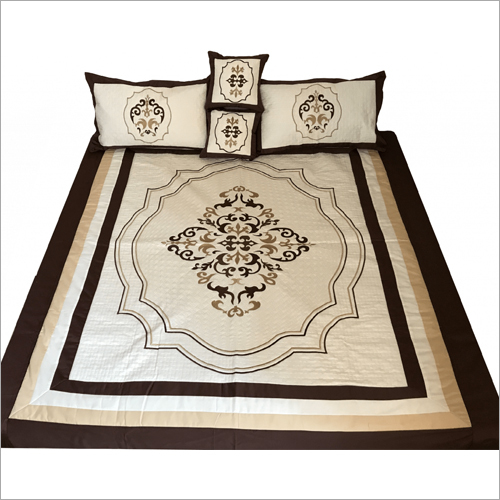 Modern Embroidered Bedsheet