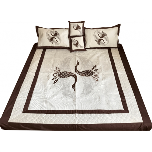 Fancy Embroidered Bedsheet