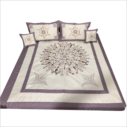 Trendy Embroidered Bedsheet