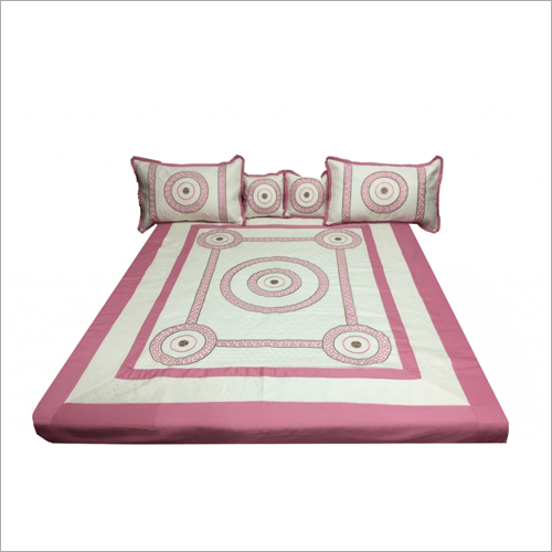 Soft Cotton Embroidered Bedsheet