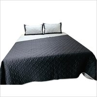Plain Quilted Bedspread