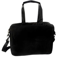 Black Plain Laptop Bag
