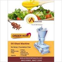 Olive Oil Rotary Machine