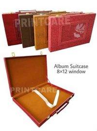 Double Lock Window Album Suitcase