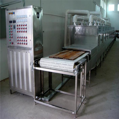 Wood Plates Microwave Drying Sterilization Machine