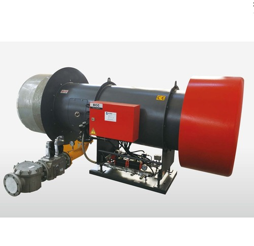 Gas burner for asphalt plant