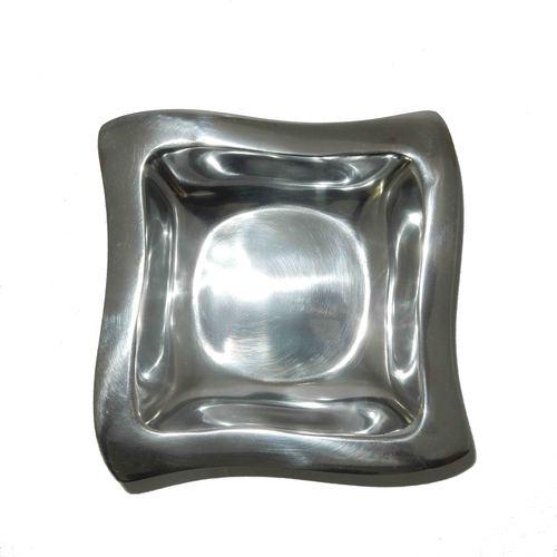 Aluminium Fruit Bowl Curved Square