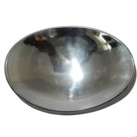 Aluminium Fruit Bowl Sleek Oval