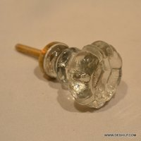 Clear Glass Home Door Knobs