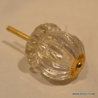 Antique Shape Glass Door Knobs