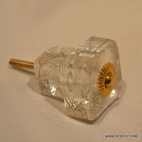 Squire Glass Door Knobs & Opener