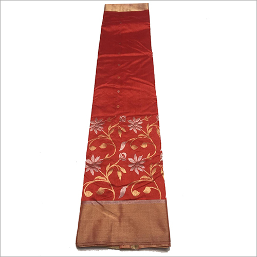 Ladies Designer Chanderi Saree