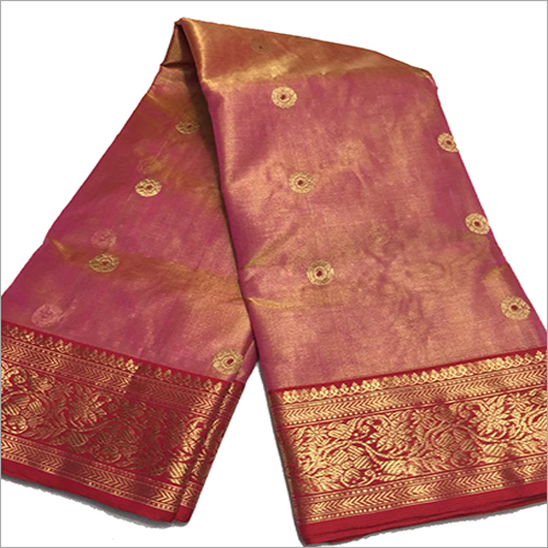 Ladies Coloured Chanderi Silk Saree