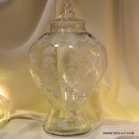 Fabulous Glass Jar With Lid