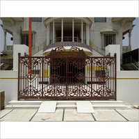 Cast Iron Gate for Gurudwara