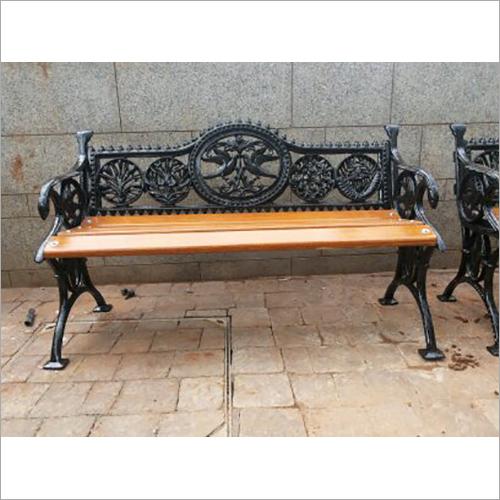 Cast Iron Bird Bench