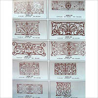 Cast Iron Railing Panels
