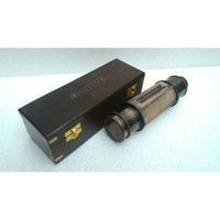 Black Nautical Brass Telescope