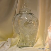 Glass Jar and Containers With Lid