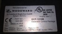 WOODWARD GENERATOR CONTROL PACKAGE 5448-881 NEW