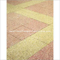 Shot Blasted Coloured Paving Slabs