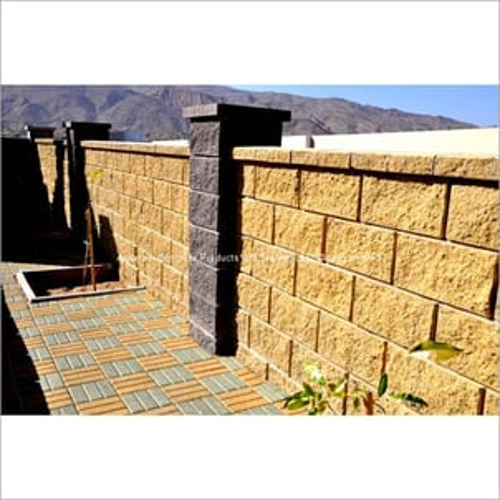 Split Face Boundary Wall Systems