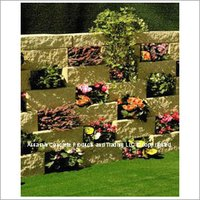 Split Block Flower Wall System