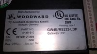 WOODWARD HMI 5448-910 NEW