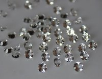 2mm Natural White Topaz Faceted Round Gemstones