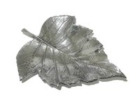 Aluminium Fruit Tray Leaf Design