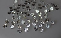 3mm Natural White Topaz Faceted Round Loose Gemstone