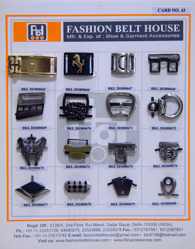 Stainless Steel Shoe Buckles