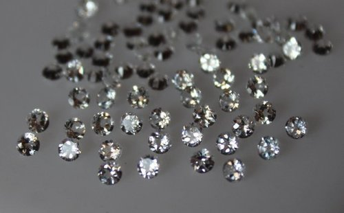 3.5mm Natural White Topaz Faceted Round Gemstone