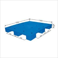 Plain Top 4 way Plastic Pallet