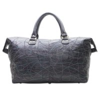 Leather Patch Duffle Bag