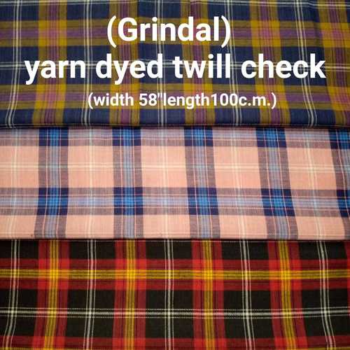 Grindal yarn dyed