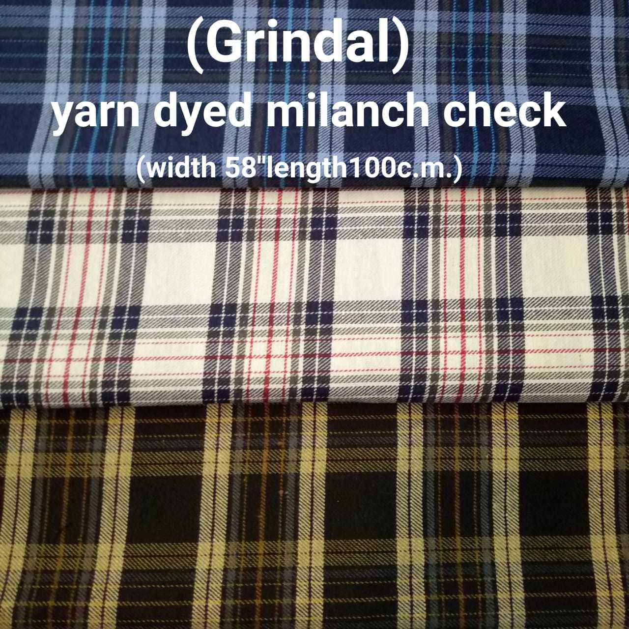 Grindal yarn dyed