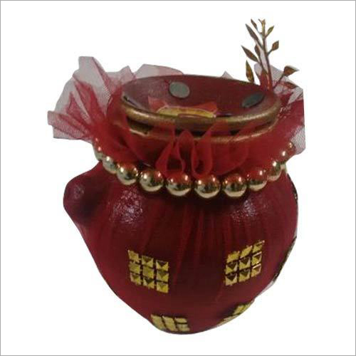 Decorative Karva Chauth Pot