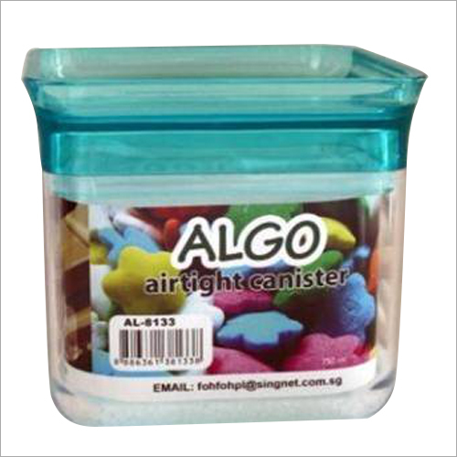 Plastic Airtight Canister