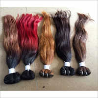 Ombre Coloured Human Hair