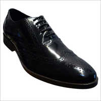 Mens Textured Leather Formal Shoes