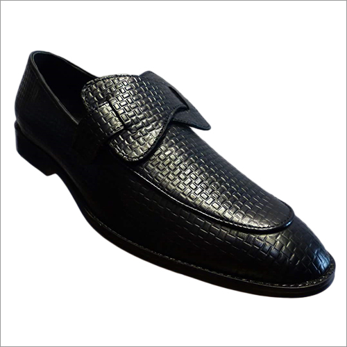 Mens Textured Loafer Shoes