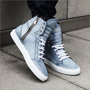 Mens High Ankle Sneaker shoes
