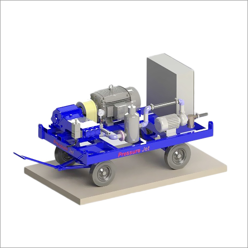 Industrial Hydro Jetting Machine