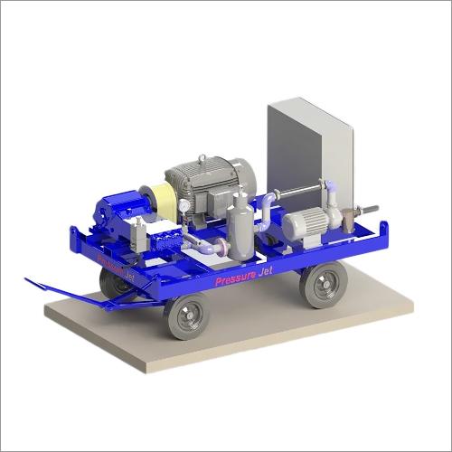 Hydro moveable Jetting Machine