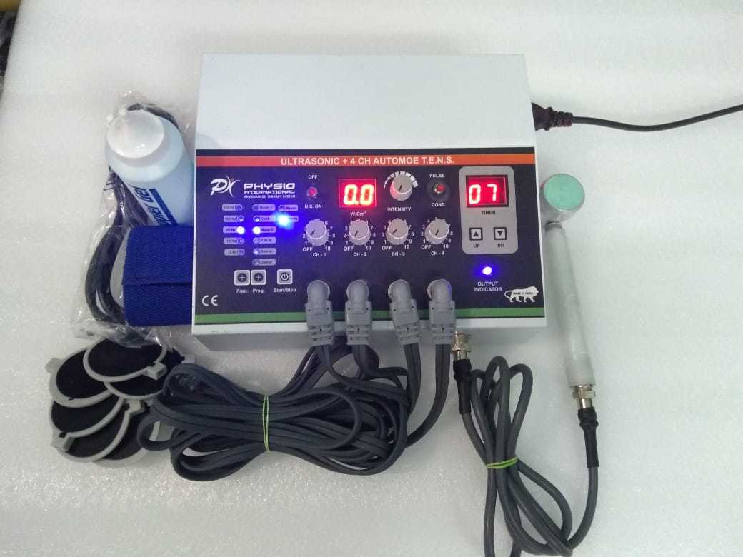 ULTRASONIC WITH FOUR CHANNEL TENS