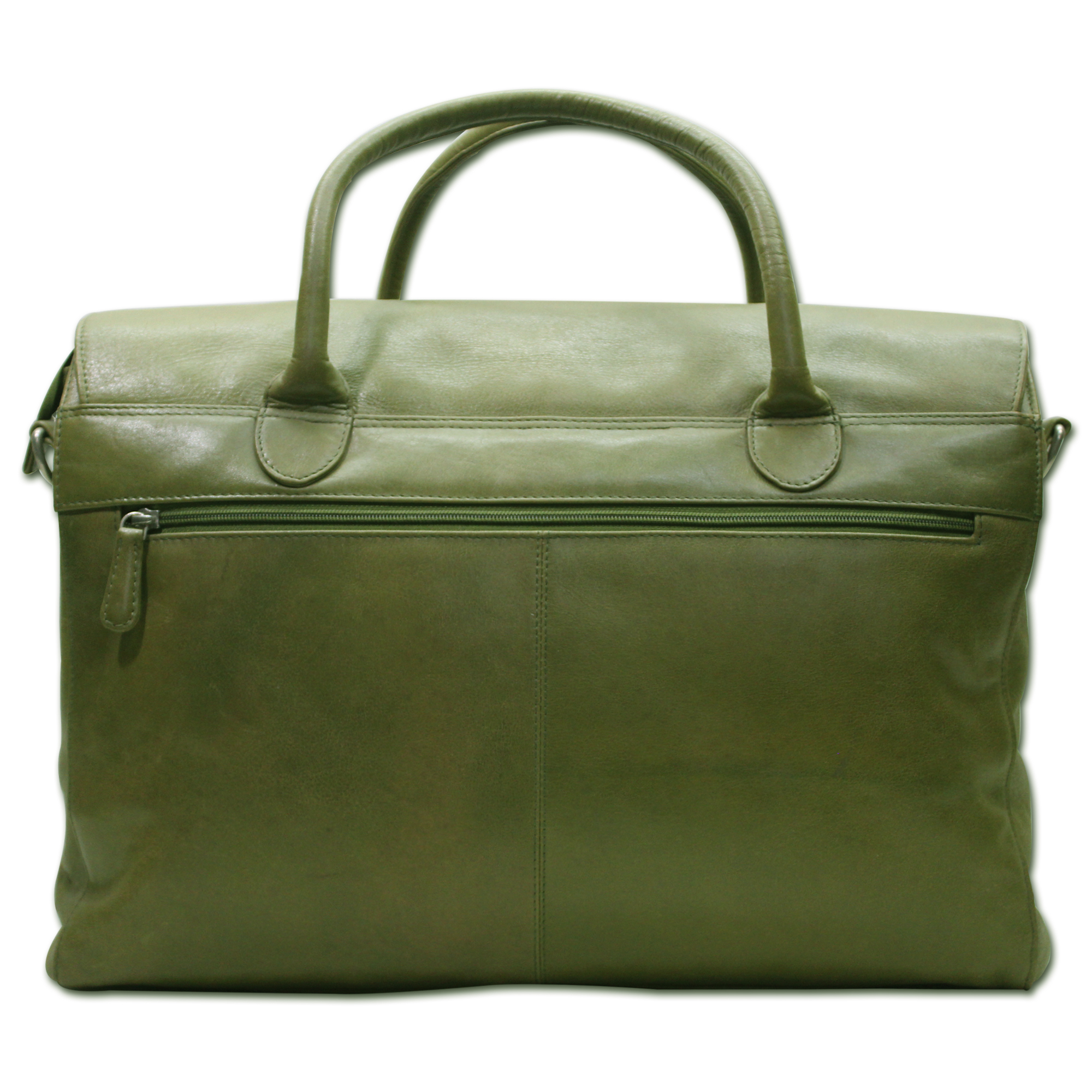 Leather Laptop Office Travel Bag