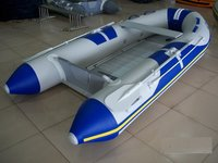 PVC Yellow Inflatable Boat
